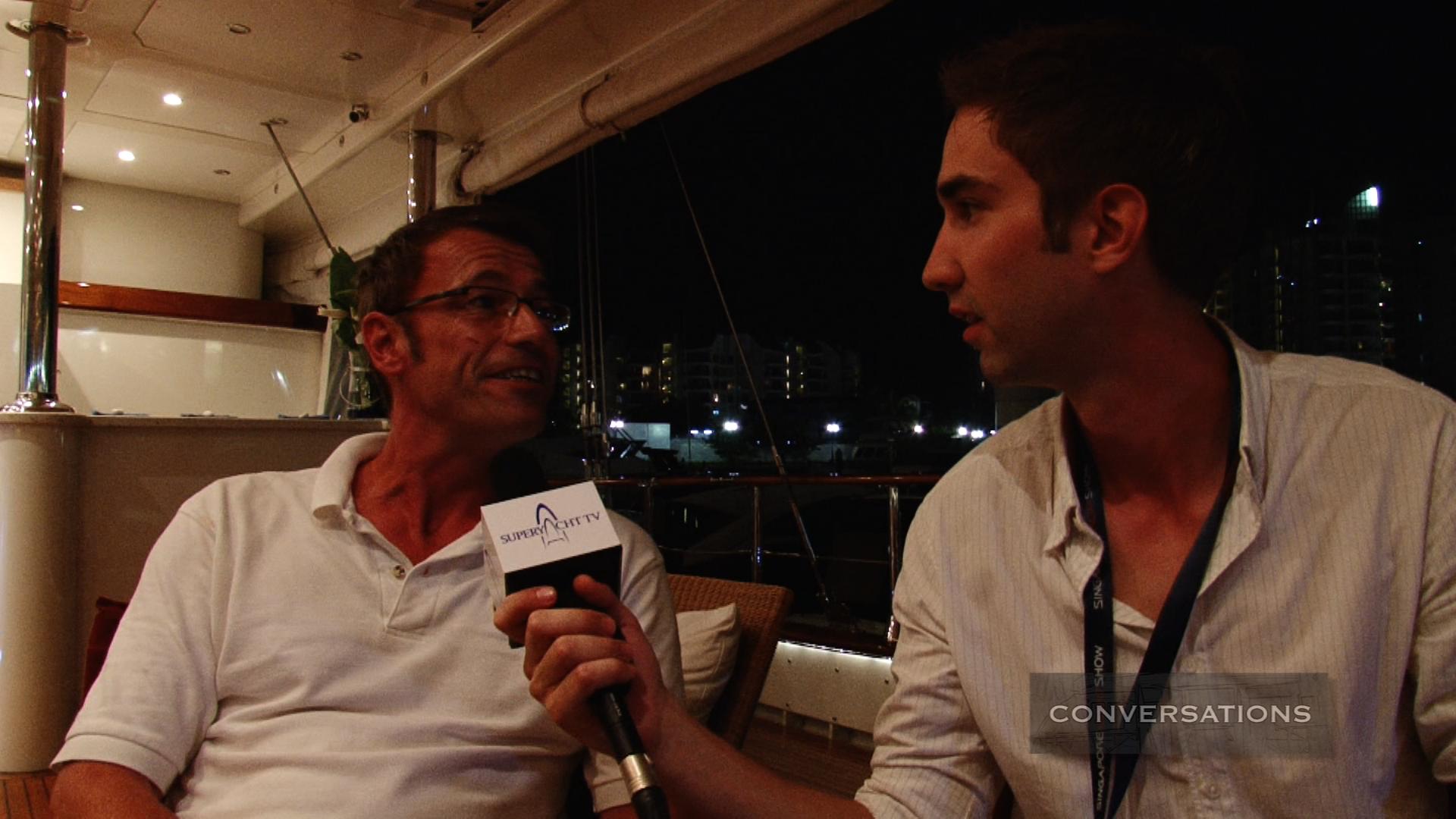 Conversations – Richard Felton (Captain, Montigne)