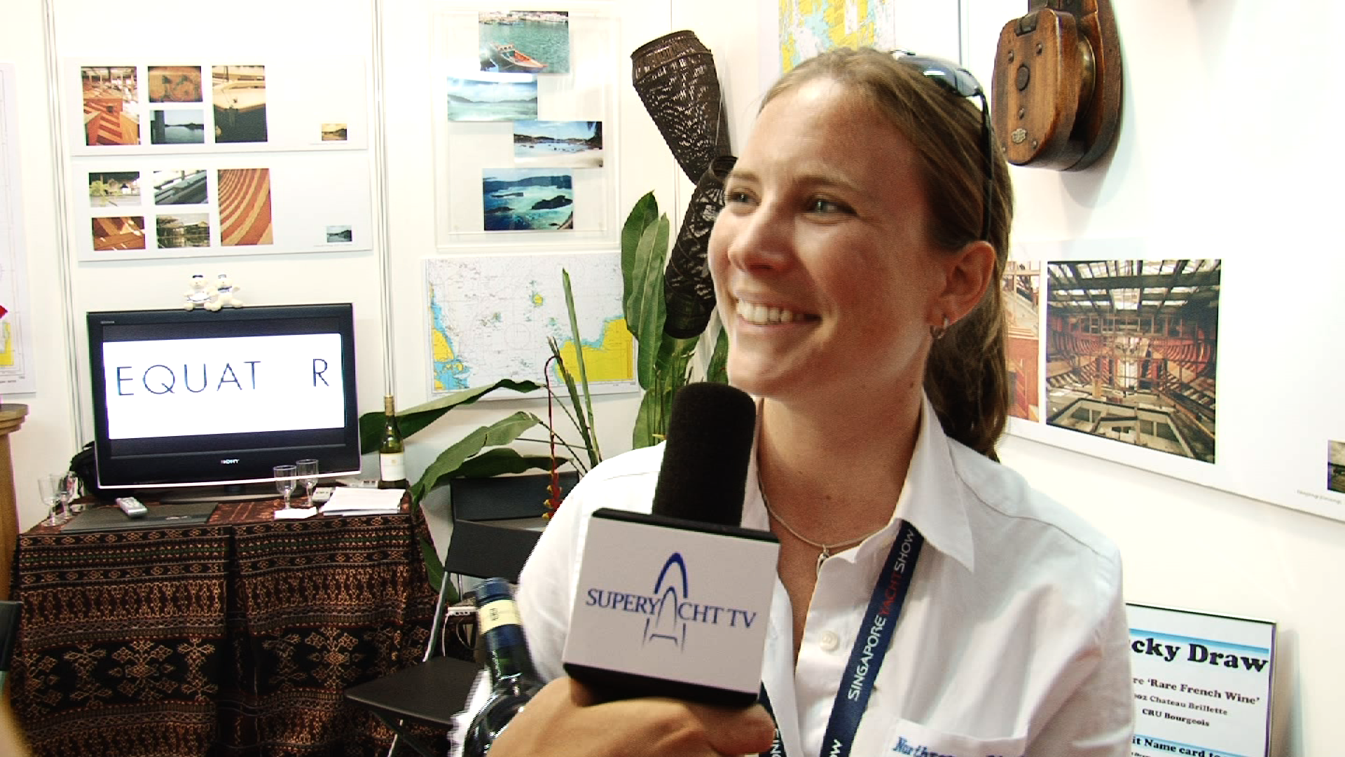 Conversations – With Karen Ball at Singapore Yacht Show 2011
