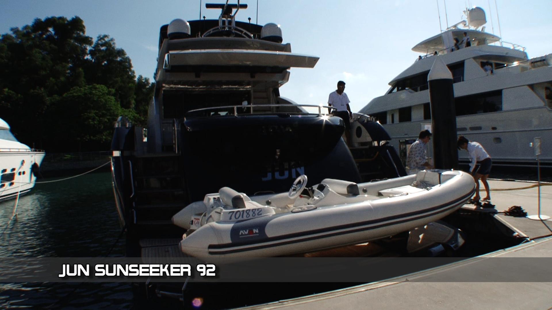 Boat Asia 2012 – Sunseeker Jun