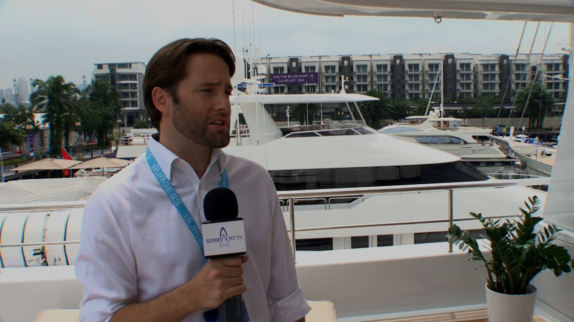 2012 Singapore Yacht Show – Charles Dence from Burgess explains everything about Helix, superyacht ownership and management in 90 seconds!