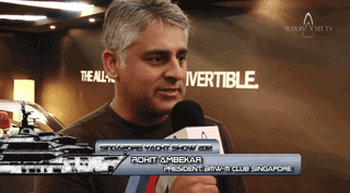 2012 Singapore Yacht Show – BMW M Club Founder
