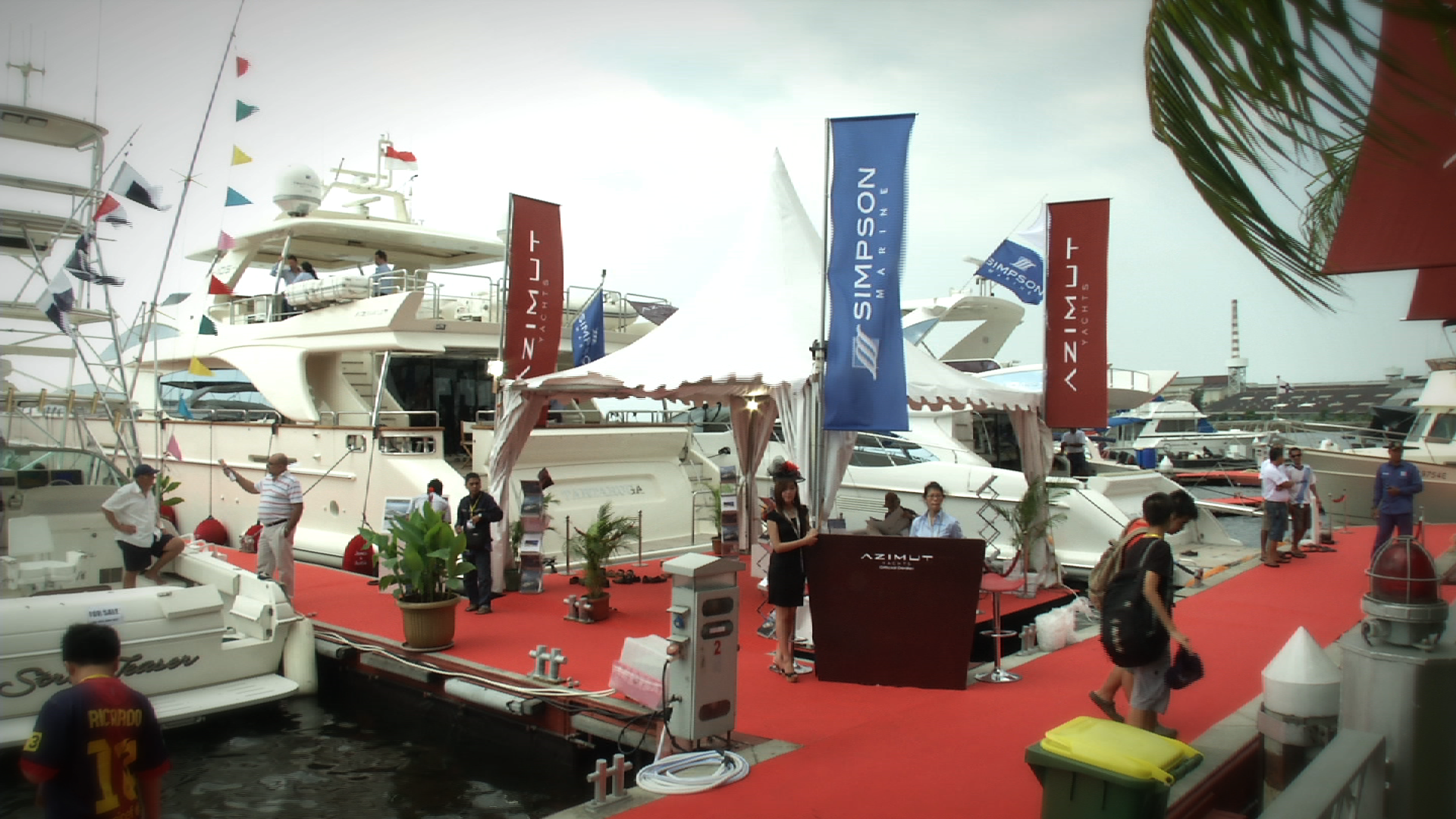 Indonesia Yachts Show 2014 – Day One
