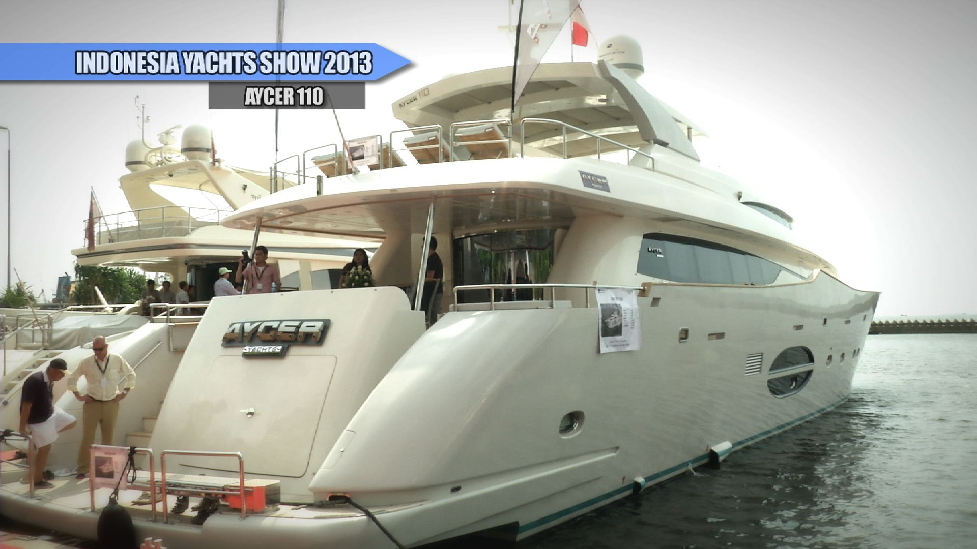 Leo Marine on Aycer 110 – Indonesia Yachts Show 2013